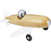 VILAC NATURAL AEROBATIC WOODEN TOY PLANE