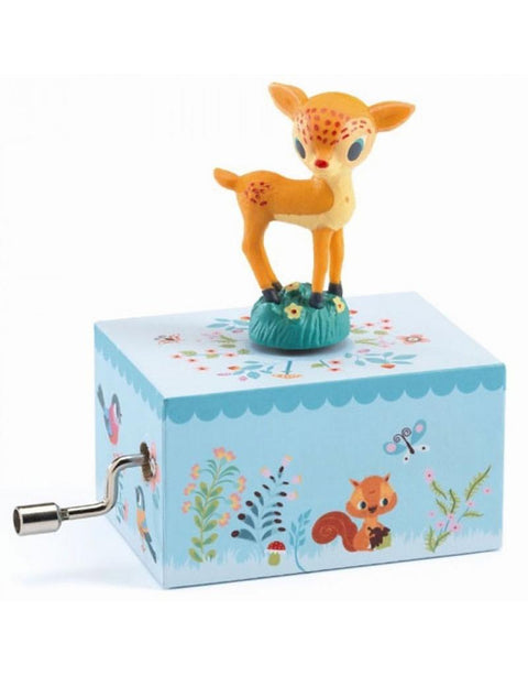Djeco Musical Boxes - Fawn In The Woods