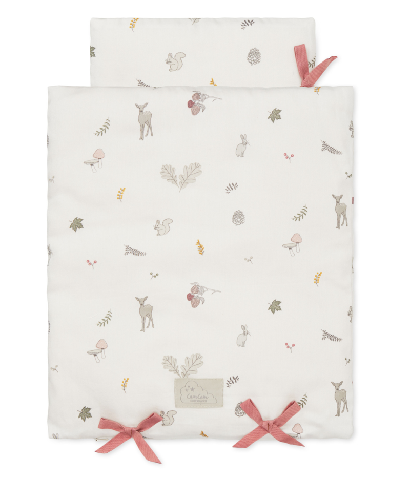 Dolls Bedding - GOTS Fawn