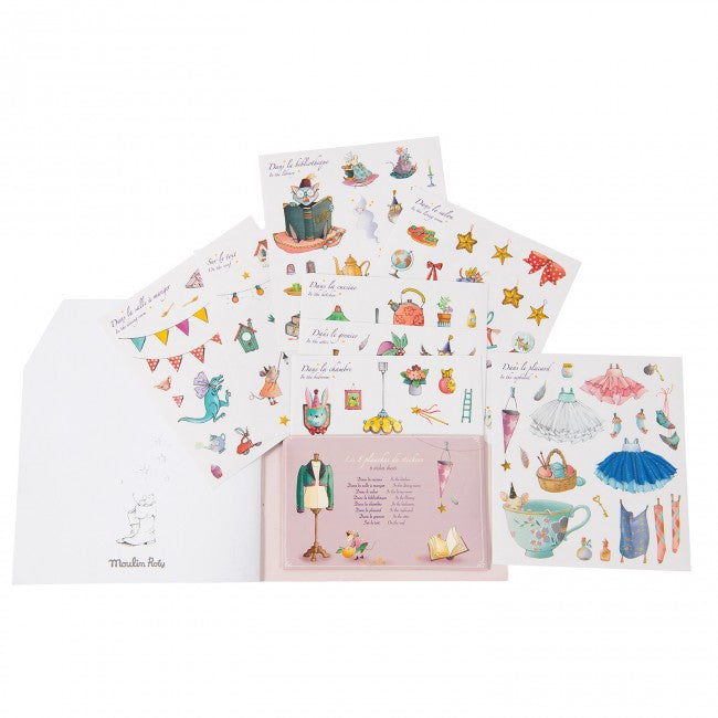 Il Etait une Fois Sticker Book by Moulin Roty