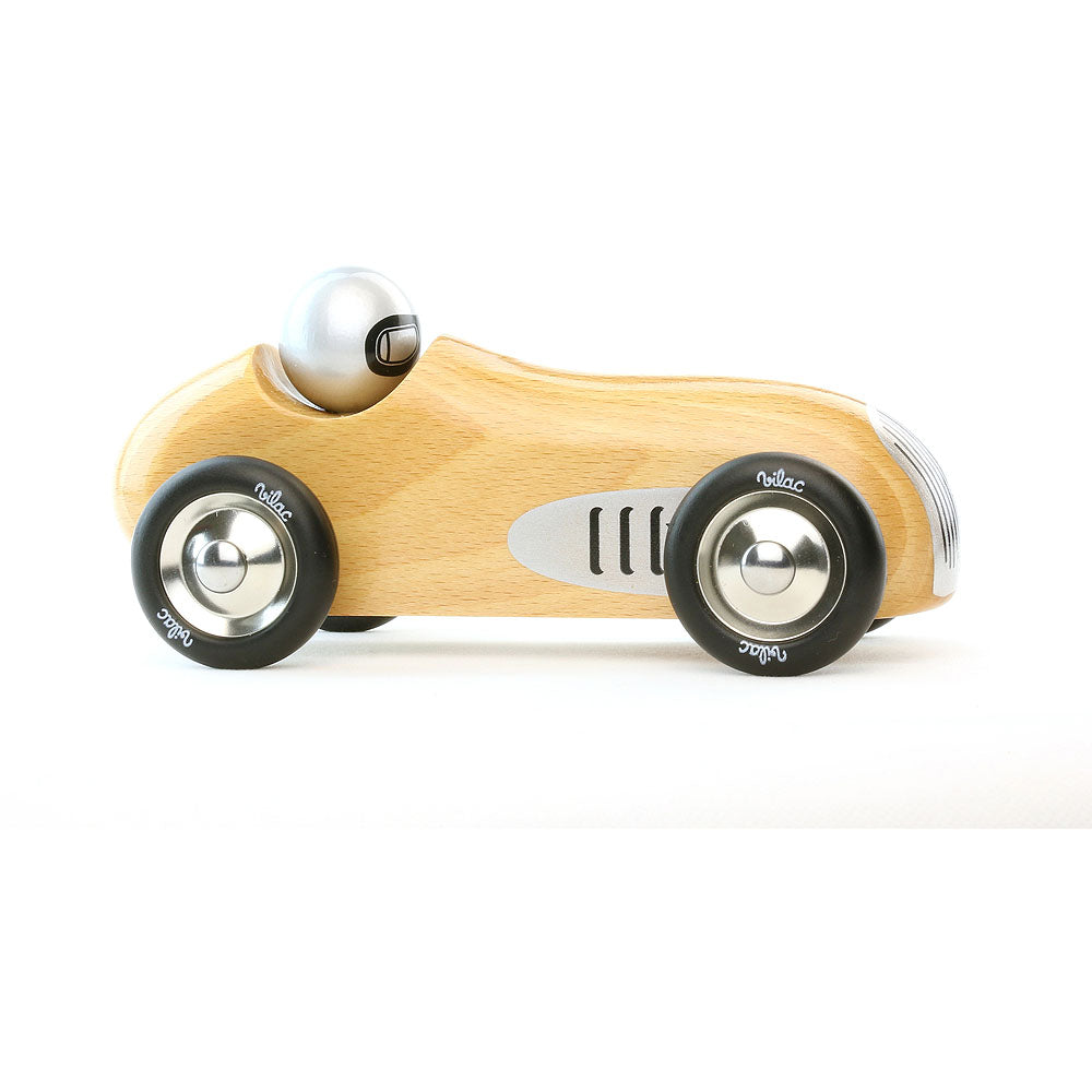 Natural Wooden Vilac Sports Car