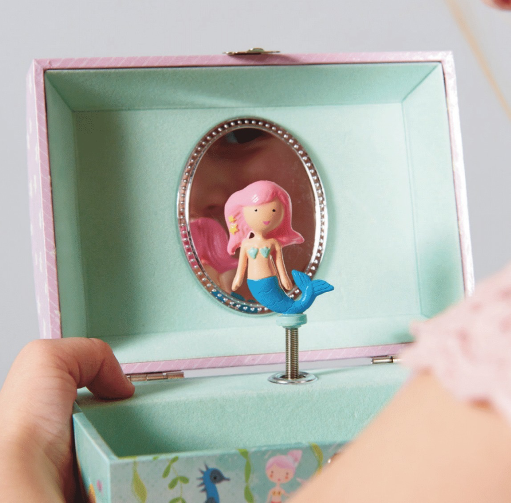 Mermaid Music Jewellery box
