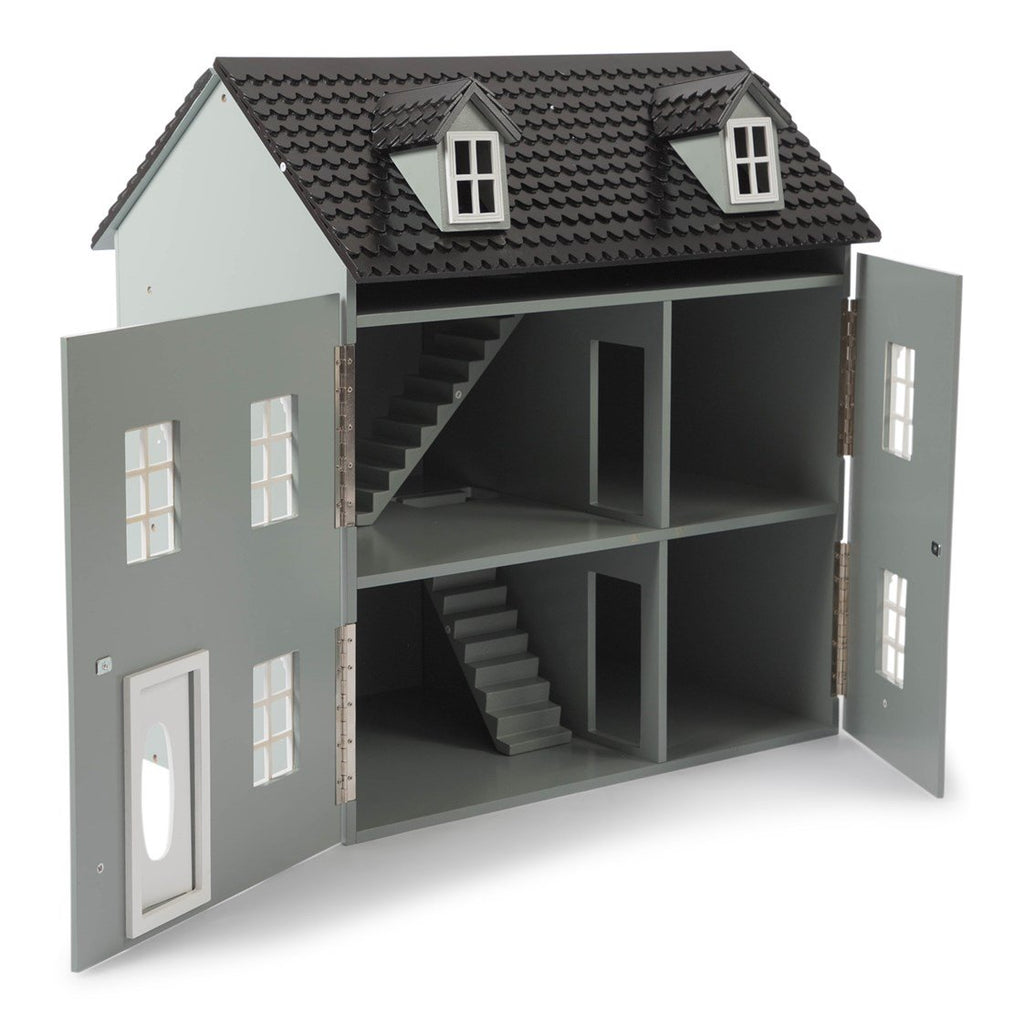 Classic Grey Wooden Dolls House