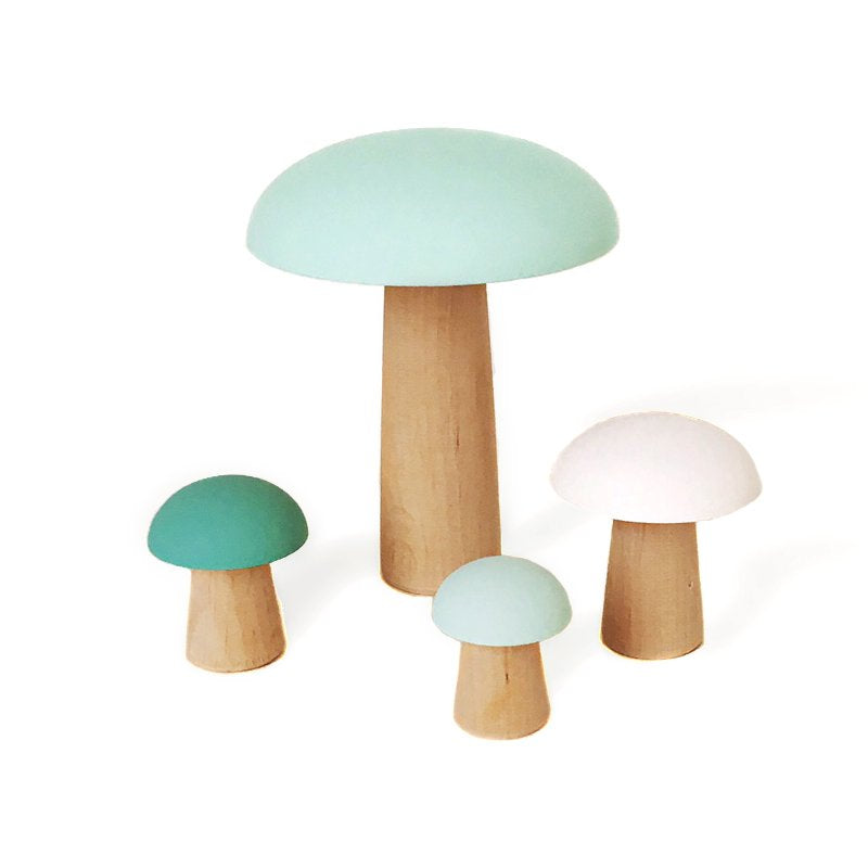 BRIKI VROOM VROOM | WOODEN MUSHROOMS | MINT