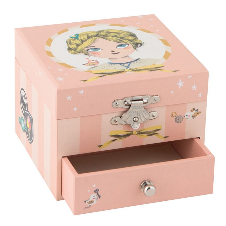 Moulin Roty Les Parisiennes Musical Jewellery Box.