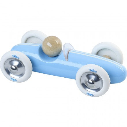 Vilac Large Grand Prix Vintage Car - Blue