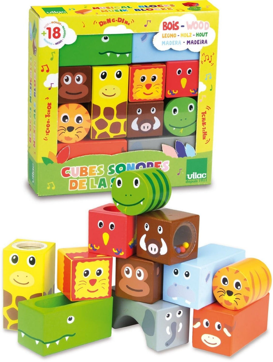 Vilac Savanna Musical Blocks