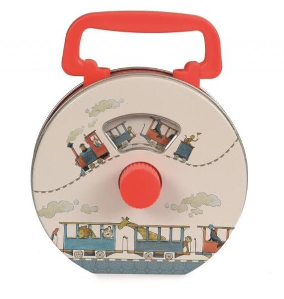 Egmont Musical Tin Radio Train