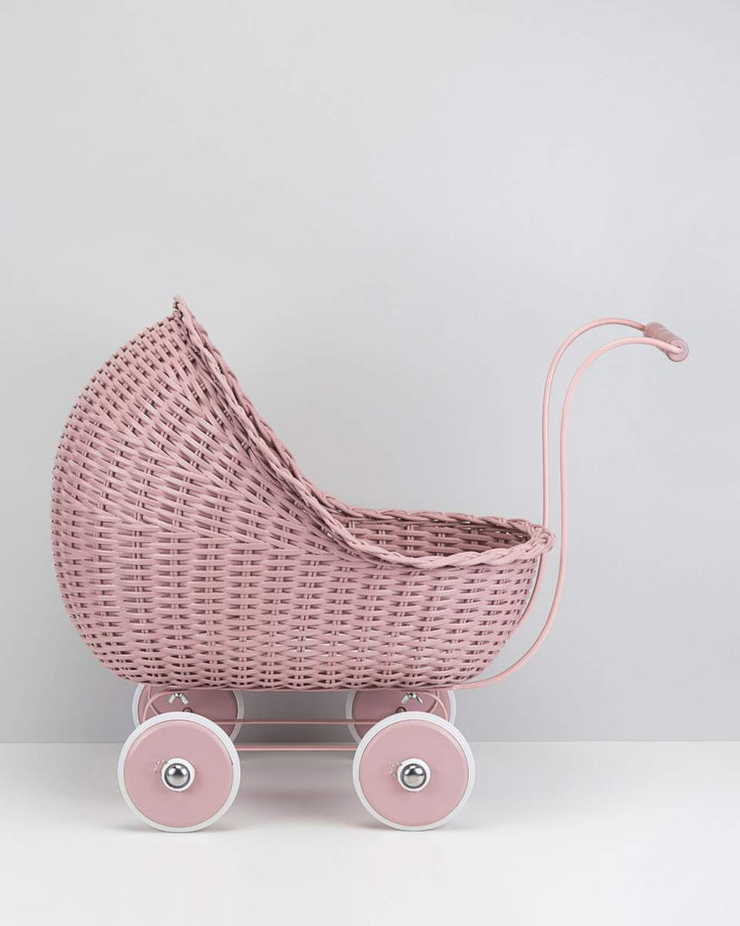 Smallstuff  Wicker Dolls Pram Powder