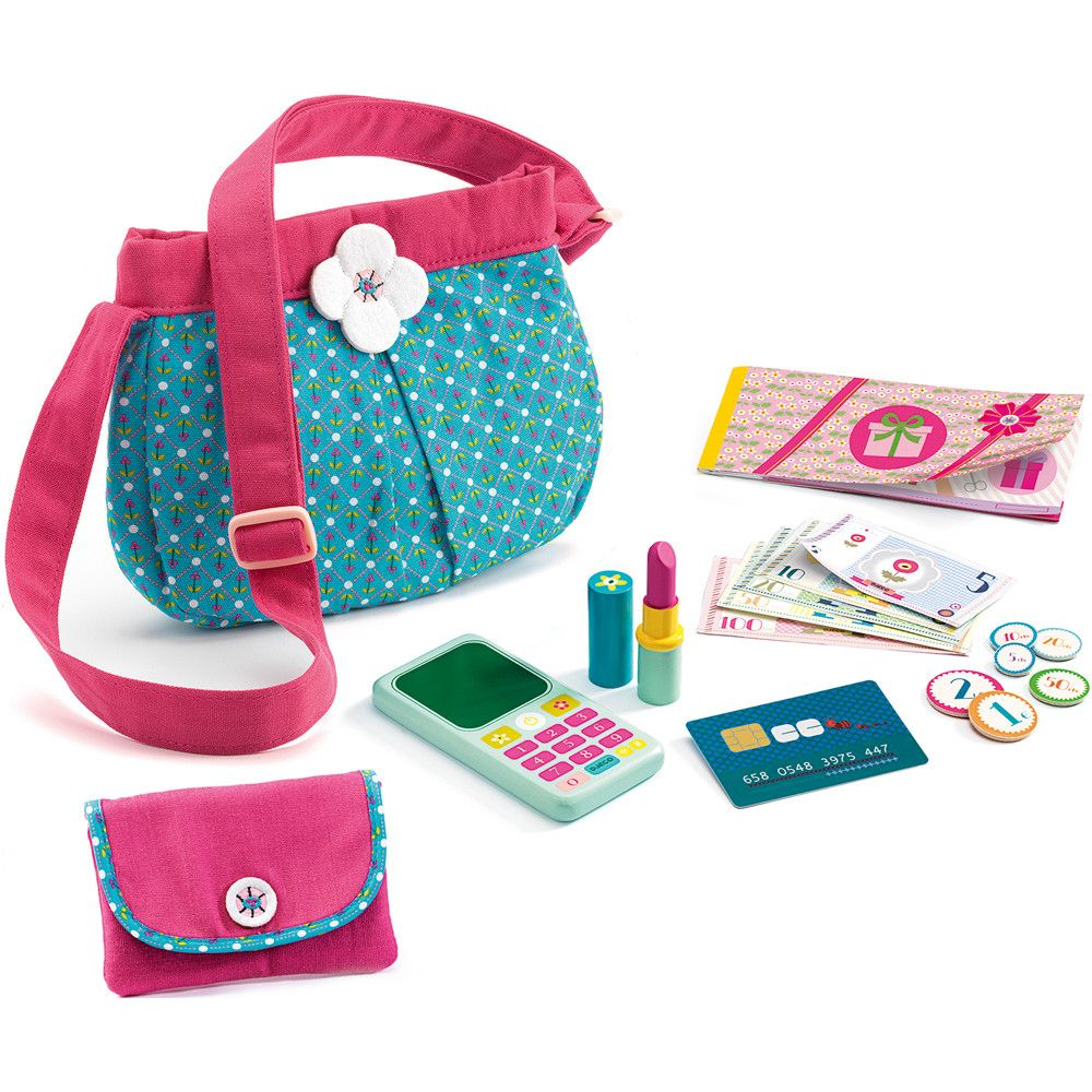 Djeco Role Play Handbag & Accessories