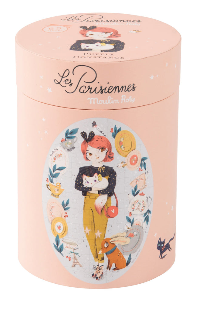 Les Parisiennes 65 pcs Puzzle by Moulin Roty