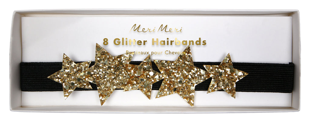 Gold Star Headbands