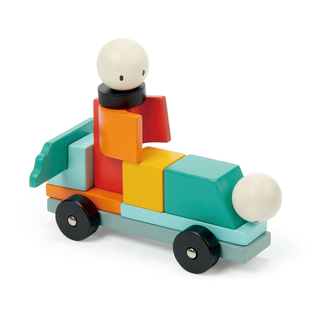 Racing Magblocks Tenderleaf Toys
