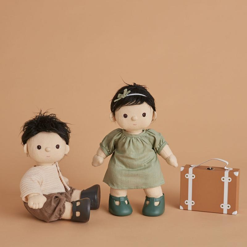 Olli Ella Dinkum Doll Travel Togs - Mint