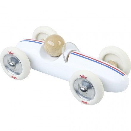 Vilac Large Grand Prix Vintage Car - White