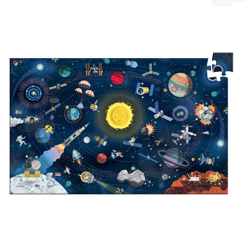Observation Puzzle & Booklet - Space