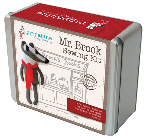 "Pippablue Sewing Kit ""Mr. Brook"