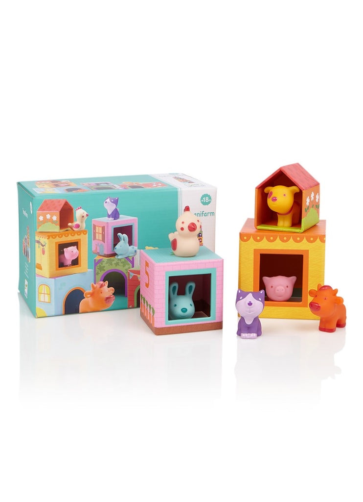Djeco Stacking Cubes Topanifarm
