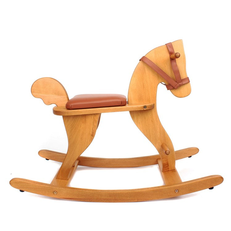 Moulin Roty Classic Wooden Rocking Horse
