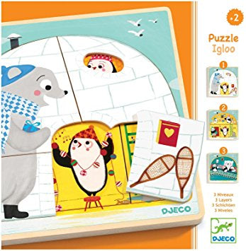 3 Layer Igloo Puzzle by Djeco