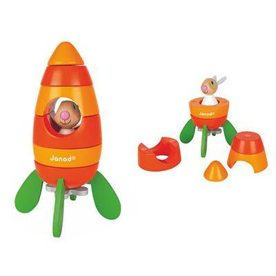 Magnetic Carrot Rocket