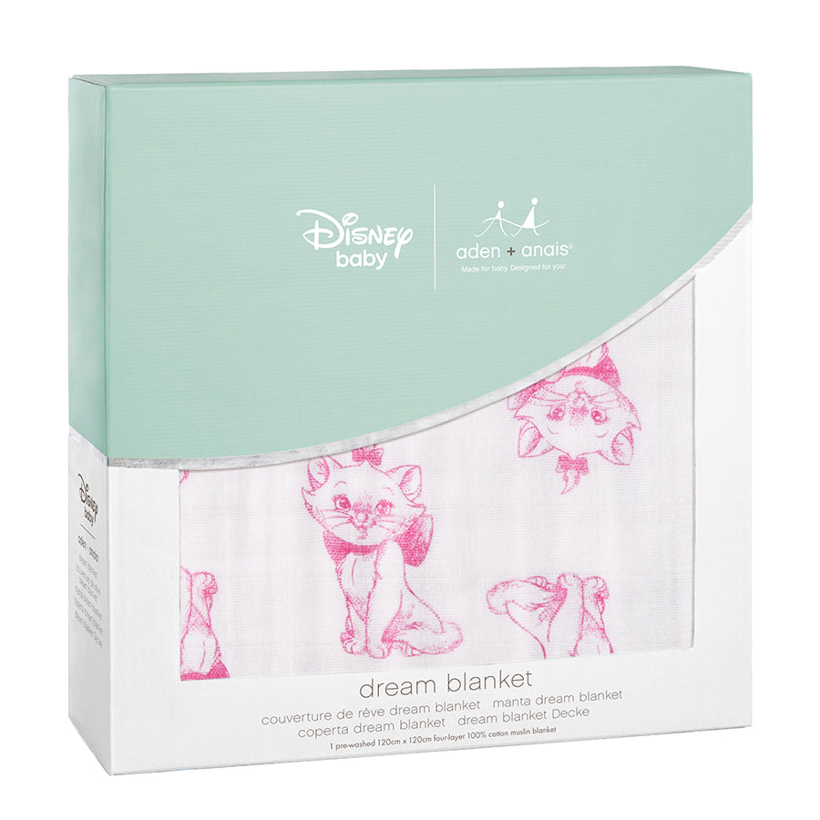 Aden and Anais The Aristocrats Disney Dream Blanket