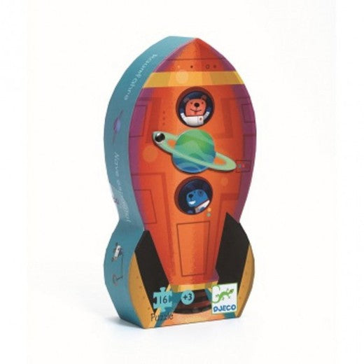 Djeco Spaceship Puzzle - 16 Pieces
