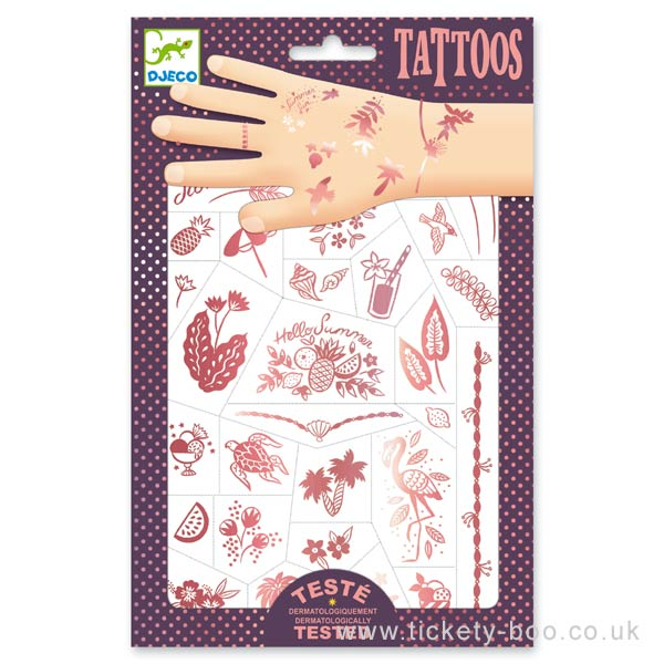 Djeco Hello Summer Tattoos