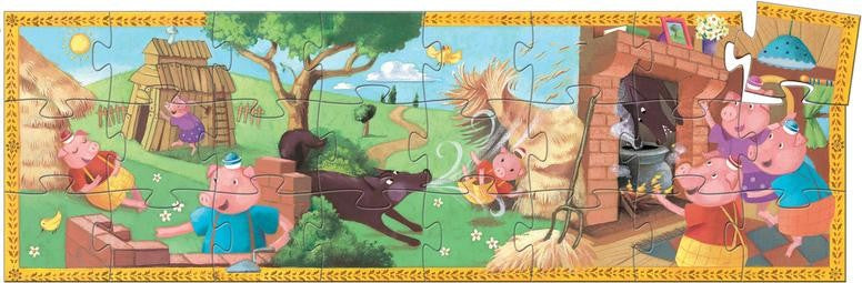 Djeco The 3 Little Pigs Puzzle