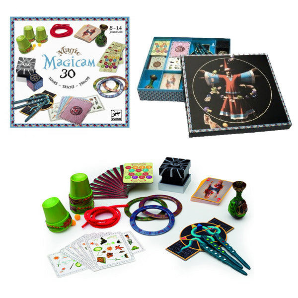 Djeco's Magicam - 30 tricks Magic Set