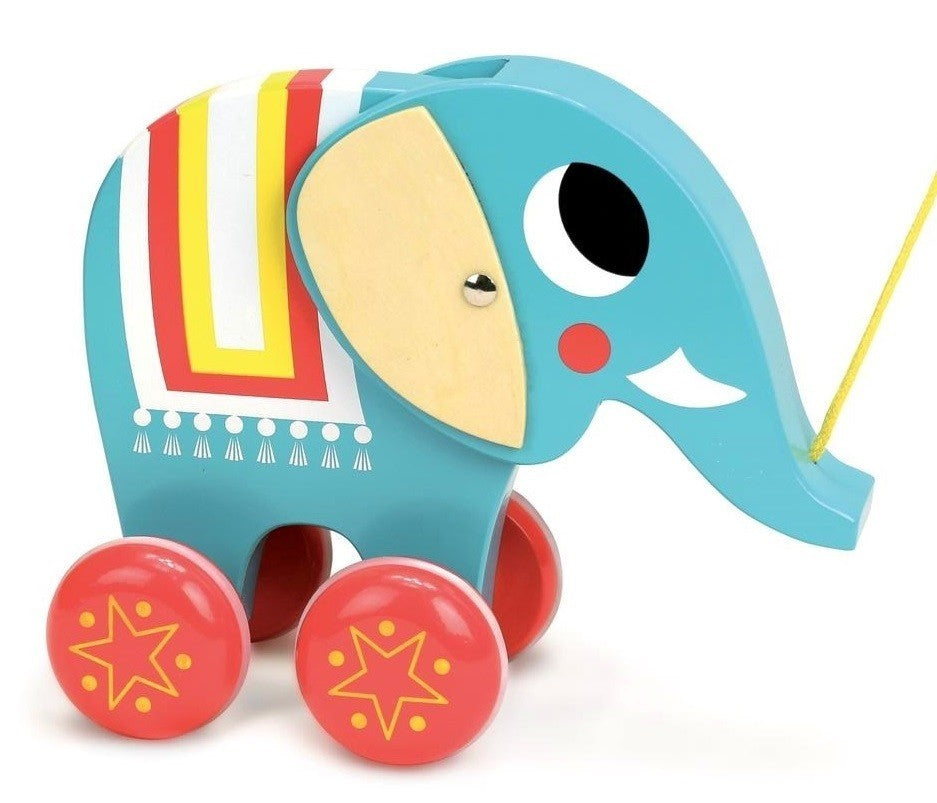 Vilac Elephant Pull Toy by INGELA P ARRHENIUS