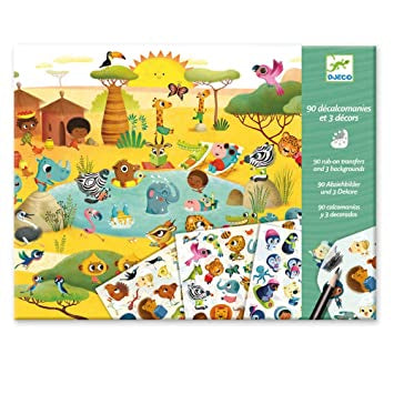 Djeco Savannah, Desert & North Pole Decals