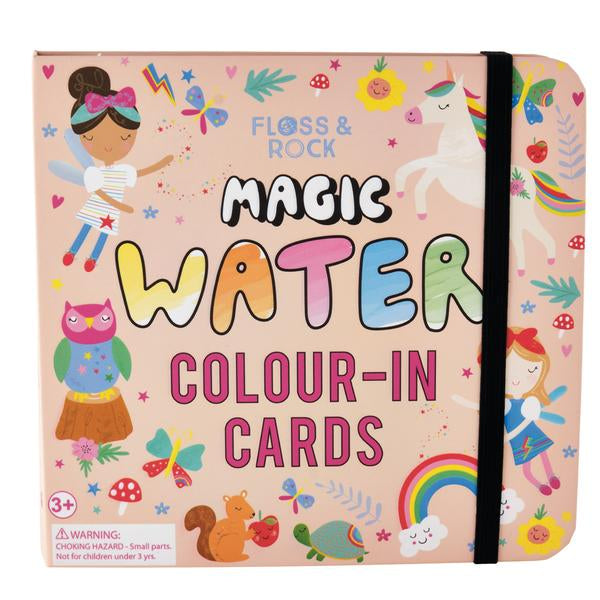 RAINBOW FAIRY MAGIC COLOUR CHANGING WATER CARDS