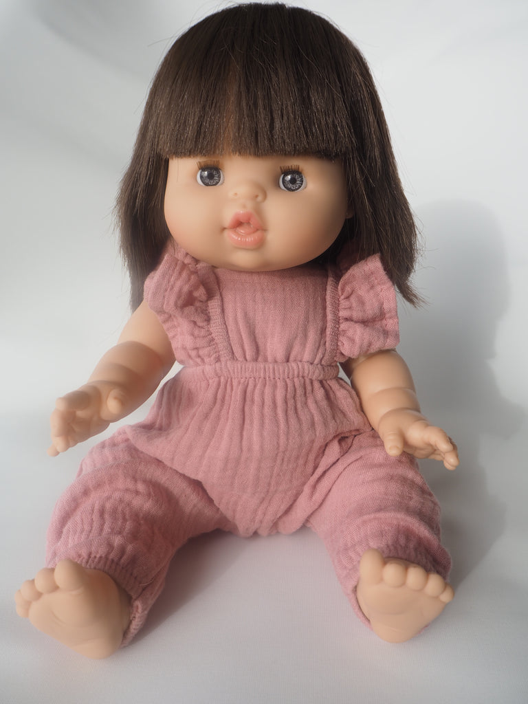 Chloe Doll in Dusty Pink Jumpsuit