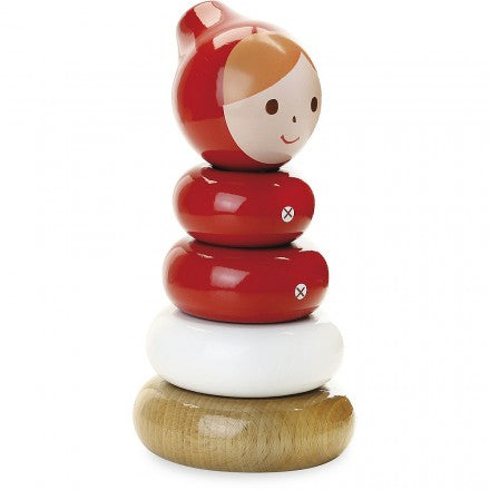 Vilac Little Red Riding Hood Stacking Toy