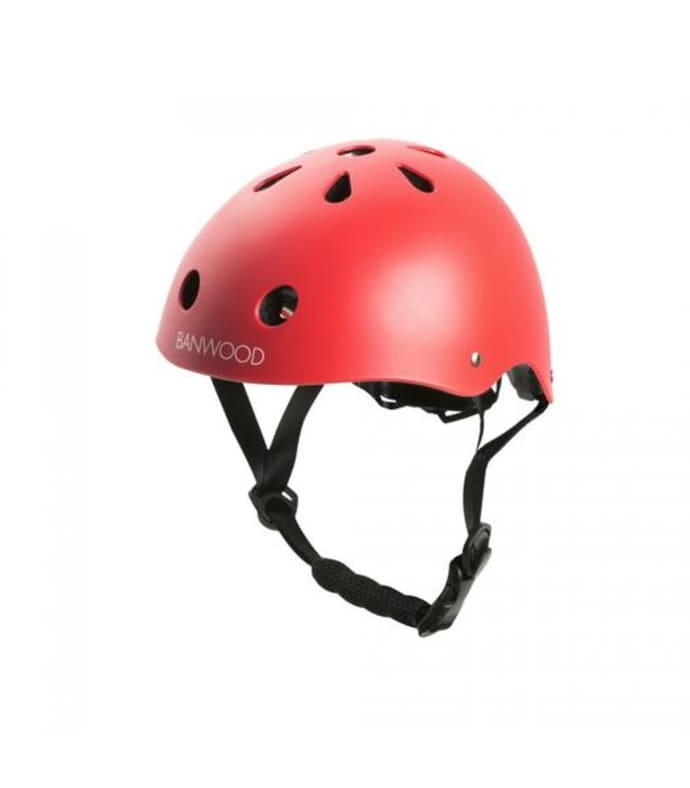 Banwood FIRST GO! Classic Helmet - Matte Red