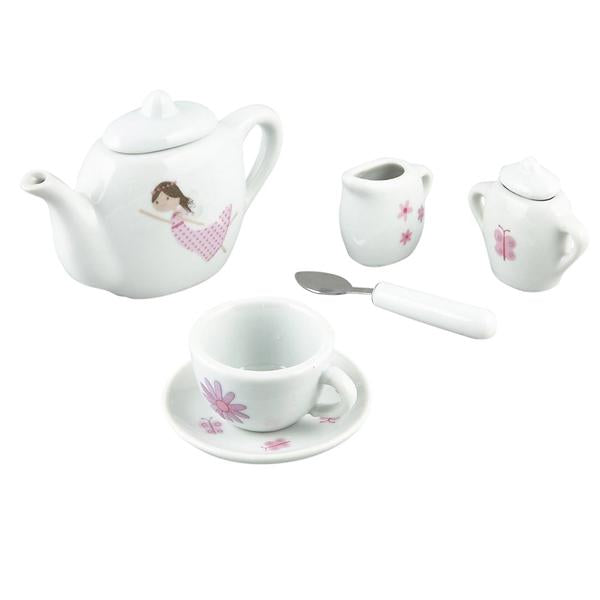 17 piece Fairy Ceramic Tea Set