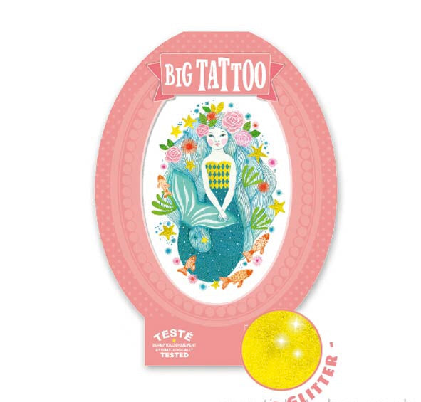 Djeco Big Tattoo - Aqua Blue