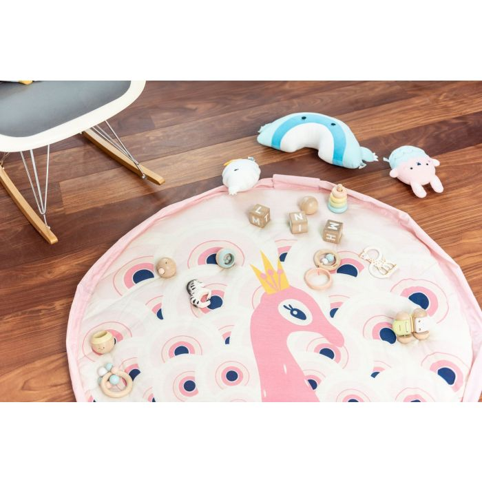 Play & Go Soft - Peacock Playmat