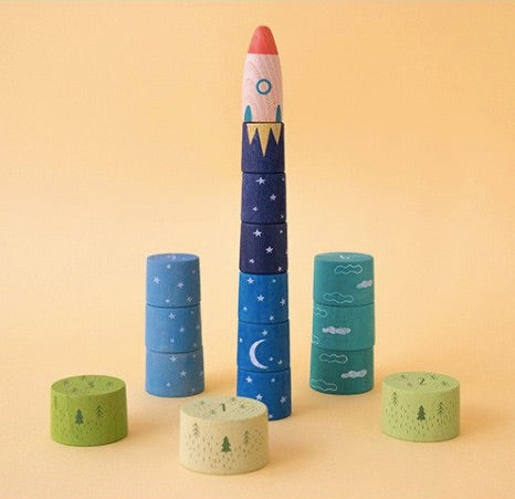 LONDJI UP TO THE STARS STACKING GAME