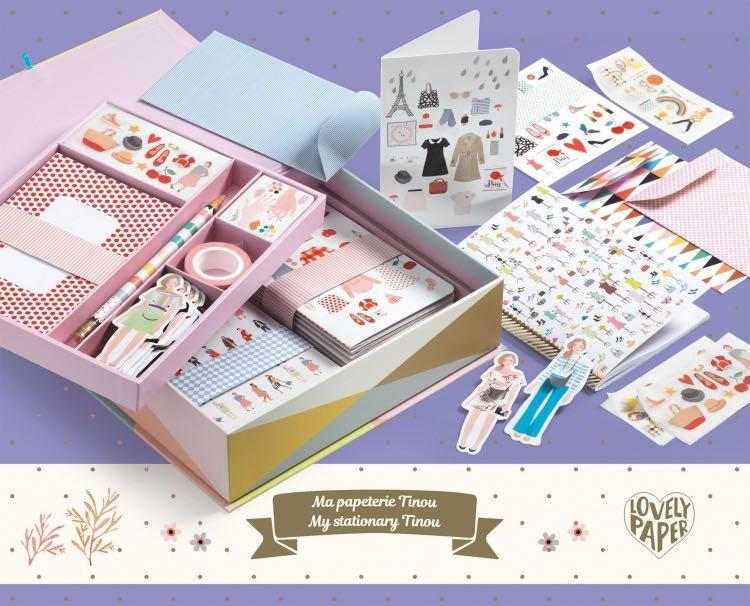 Tinou Stationery Box Set by Djeco