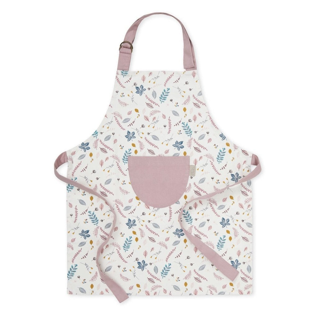 Kids Apron - OCS Pressed Leaves Rose