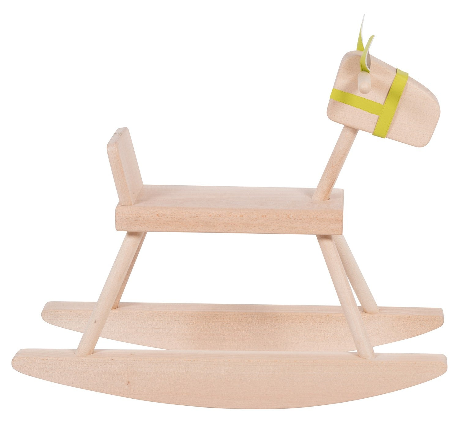 Moulin Roty Solid Beech Rocking Horse