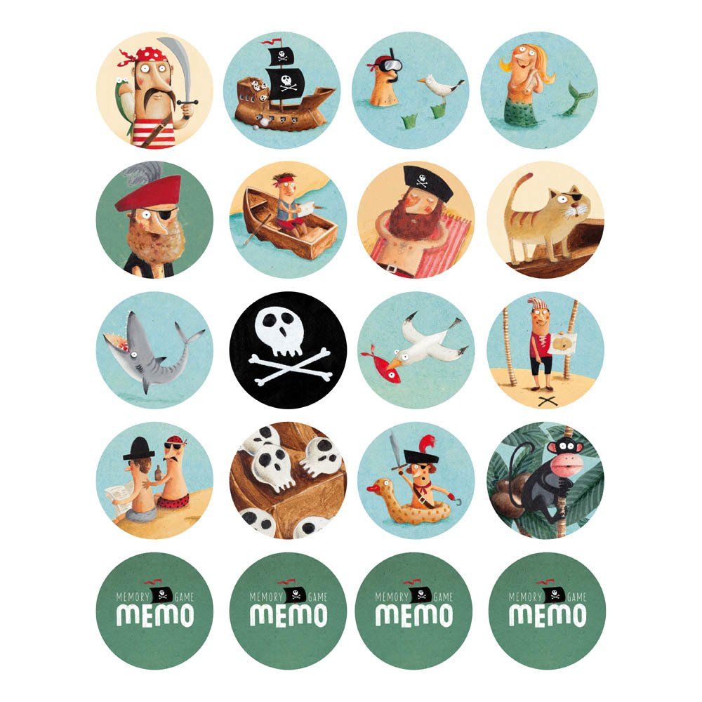 LONDJI PIRATE MEMORY GAME