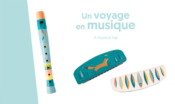 Moulin Roty Voyage d'Olga Harmonica