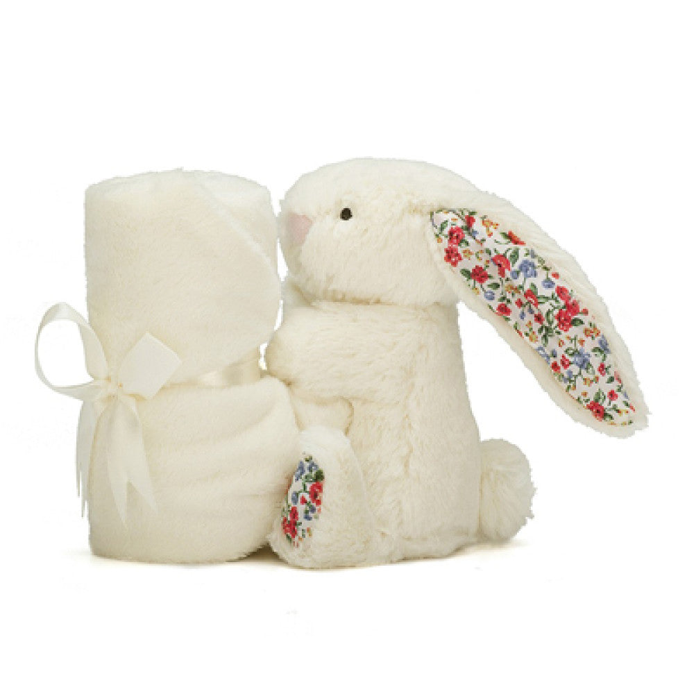 Little Jellycat Blossom Cream Bunny Soother