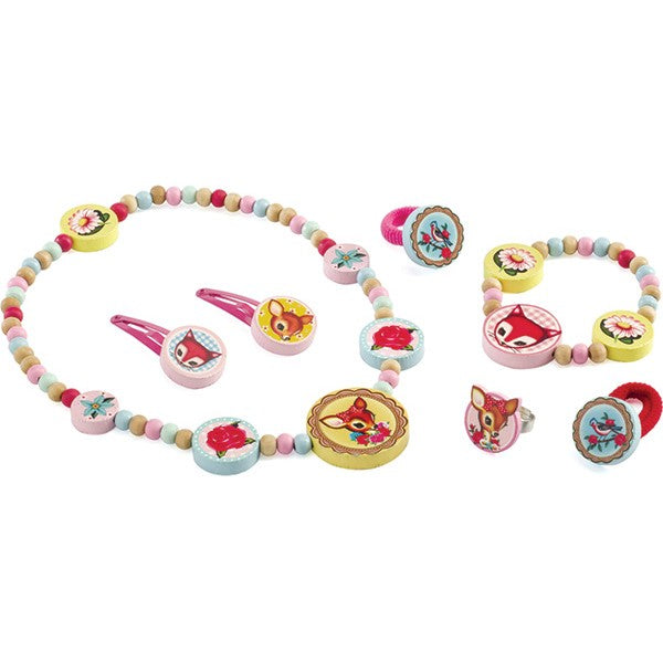 Djeco Small Deer Jewellery Set