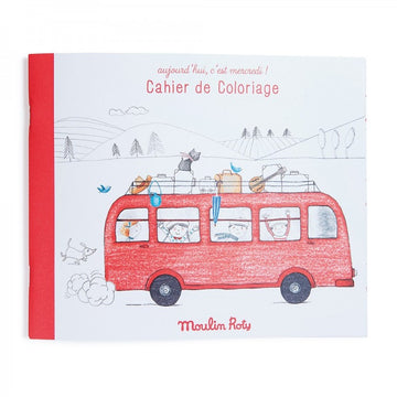 Moulin Roty Colouring Book