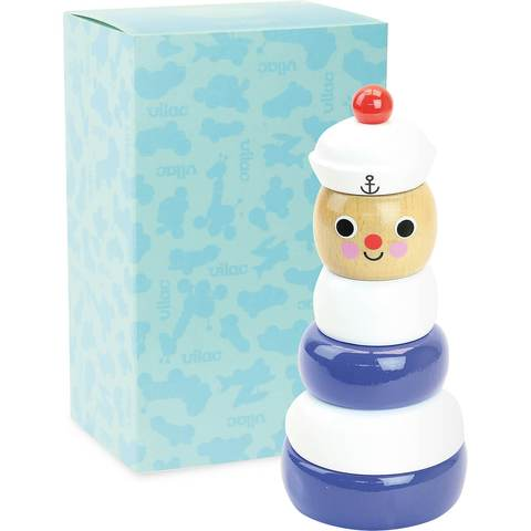 INGELA P. ARRHENIUS SAILOR STACKING TOY BY VILAC