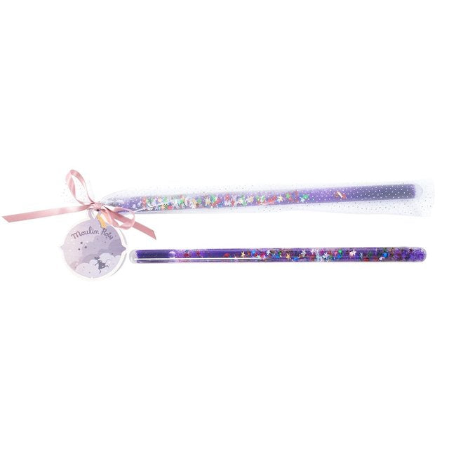 Moulin Roty Magic Wand  - Il etait une fois - PURPLE